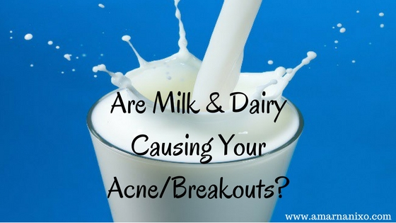 Is Milk Causing Your Acne1-
